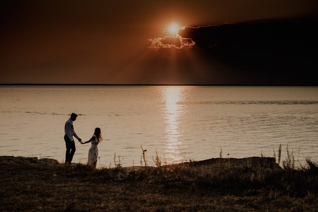 Engagement Photos at Steep Rock, Manitoba
