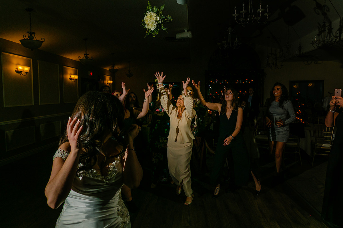 Winter Wedding at Breezy Bend Country Club