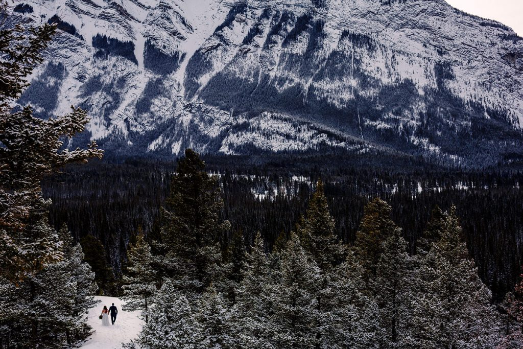 Banff wedding photographer Tony