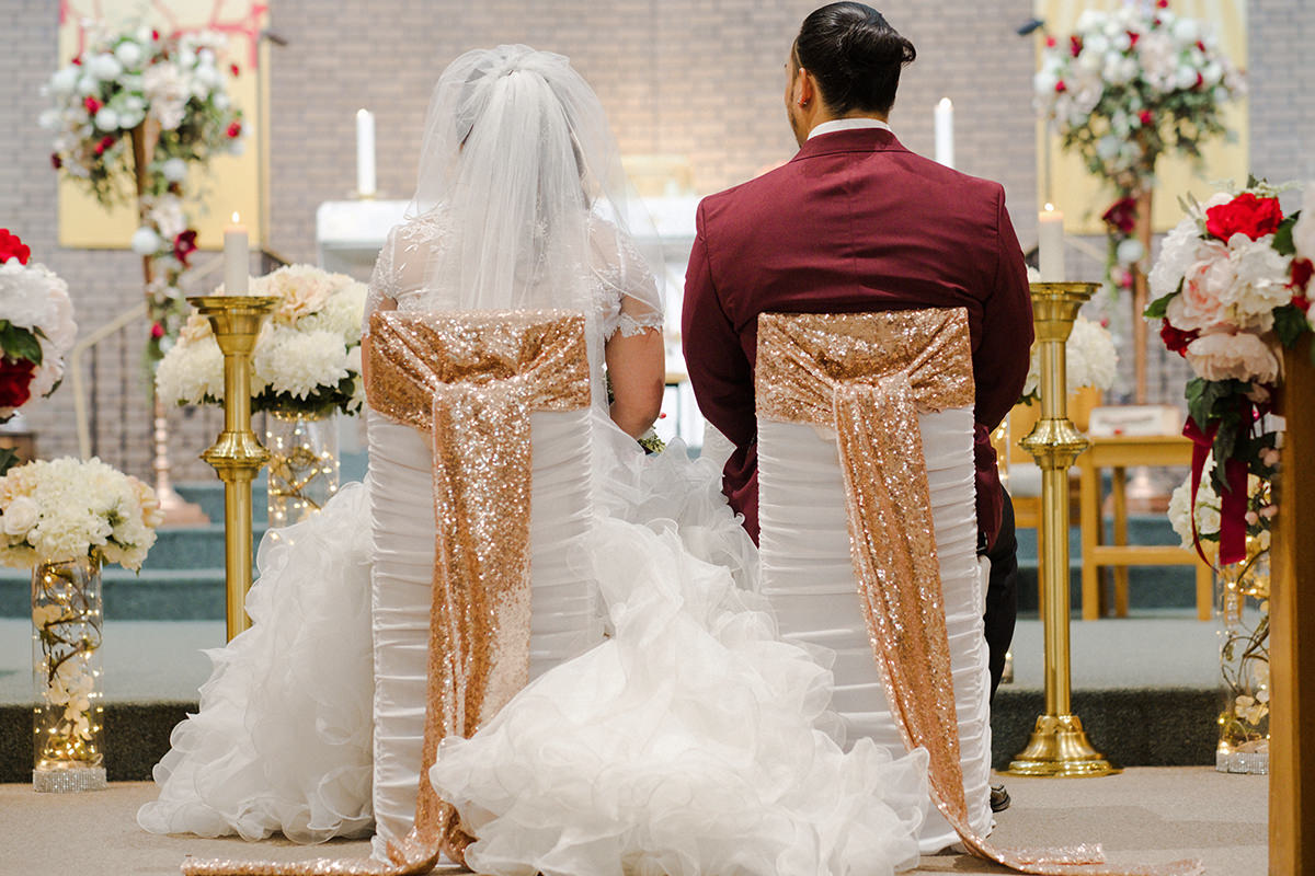 Filipino wedding traditions in Church