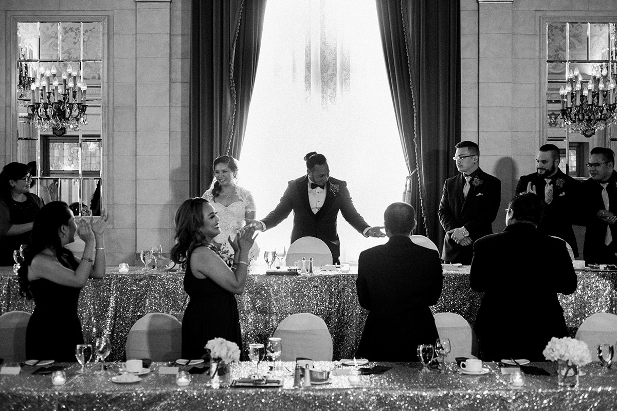 Hotel Fort Garry wedding reception