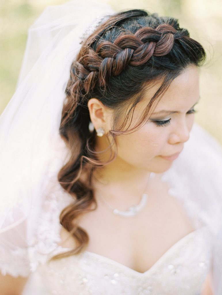 Amazing braid for Bridal hair do