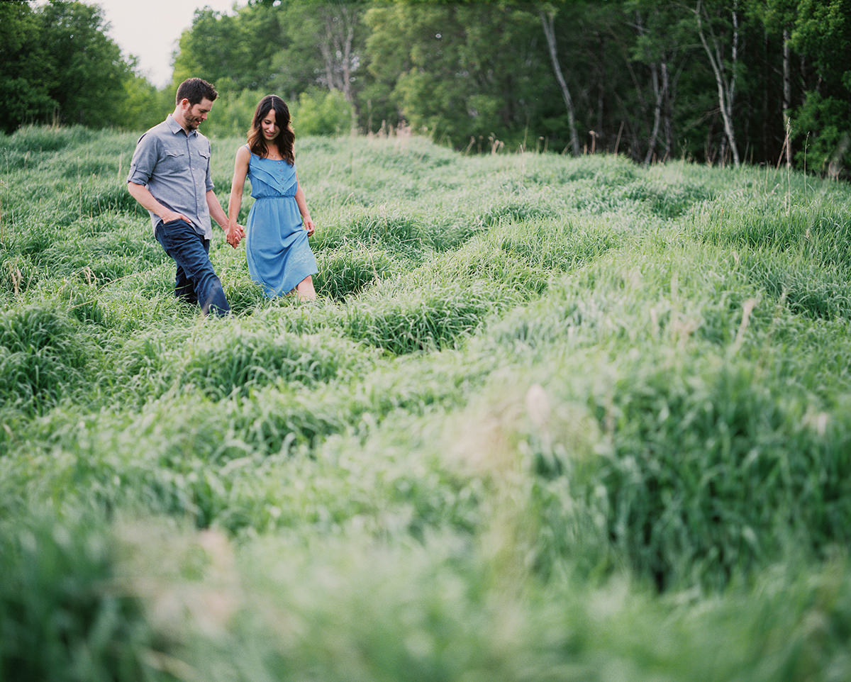 Assiniboine Forest Film Engagement Photos