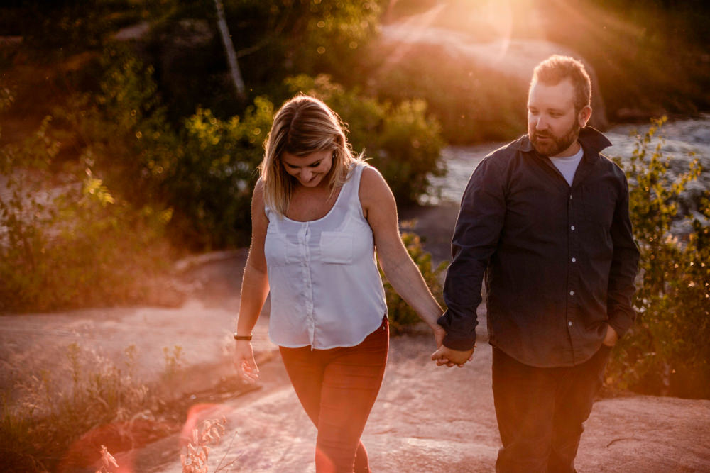 Pinawa Dam and Lee River Engagement Photos