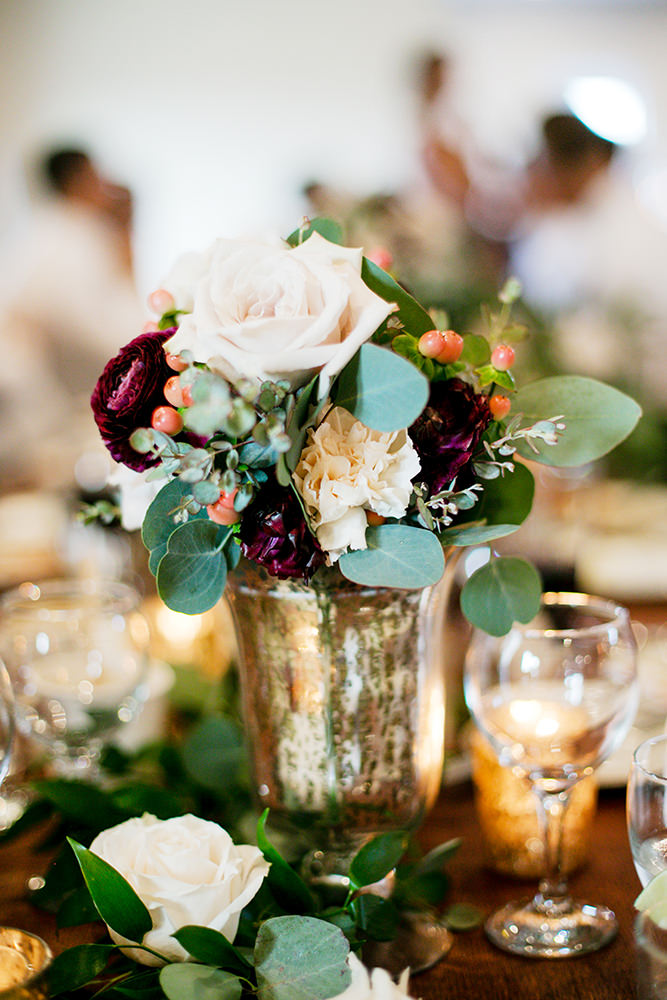 Whitetail Meadow table decor