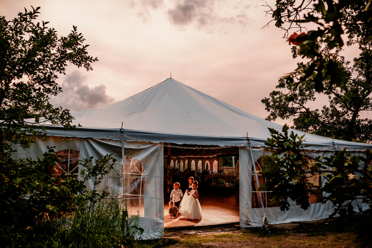 Pineridge Hollow Tent Wedding Manitoba