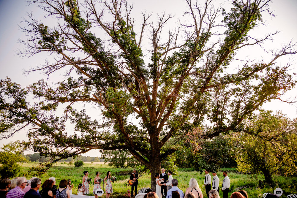 Intimate Manitoba Farm Wedding